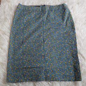 Talbots speckled pencil skirt size 4
